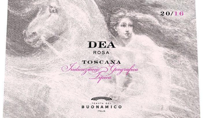 Dea Rosa: Il nuovo vino Rosé del Buonamico